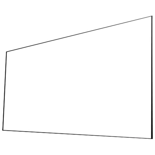 "EluneVision Elara NanoEdge 92"" 16:9 Fixed Frame Projector Screen"