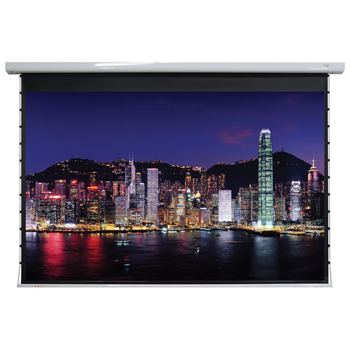 "EluneVision 120"" 16:9 Tab-Tension Motorized Projector Screen"