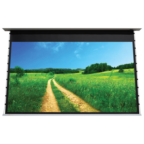 "EluneVision 109"" 16:10 In-Ceiling Motorized Projector Screen"