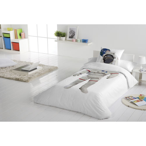 Gouchee Design Astronaut 2-Piece Cotton Duvet Cover Set - Single