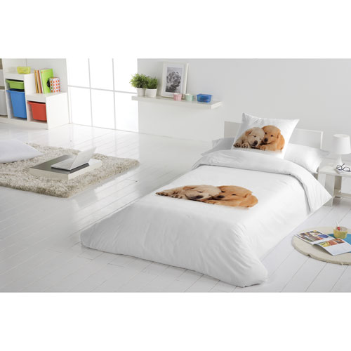 Gouchee Design So Cute 2-Piece Cotton Percale Duvet Cover Set - Single