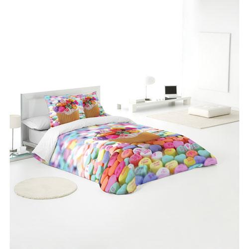 Gouchee Design Cupcake 3-Piece Cotton Duvet Cover Set - Queen