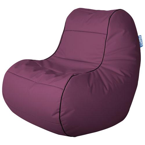 Sitting Point Chillybean Scuba Contemporary Bean Bag Chair - Purple