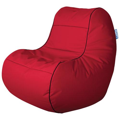 Sitting Point Chillybean Scuba Contemporary Bean Bag Chair - Red