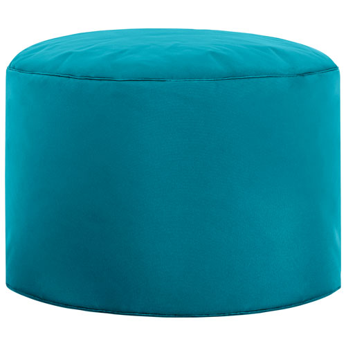 Sitting Point Dotcom Brava Contemporary Pouf - Turquoise