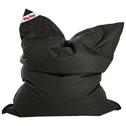 Sitting Point BigBag Brava XL Contemporary Bean Bag Chair - Black