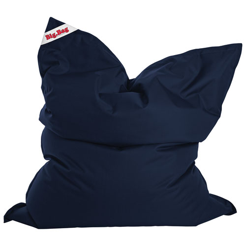 Sitting Point BigBag Brava XL Contemporary Bean Bag Chair - Navy