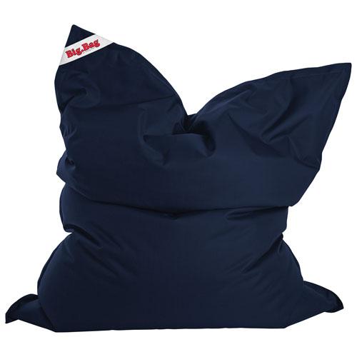 Fauteuil poire contemporain BigBag Brava XL de Sitting Point - Bleu marine