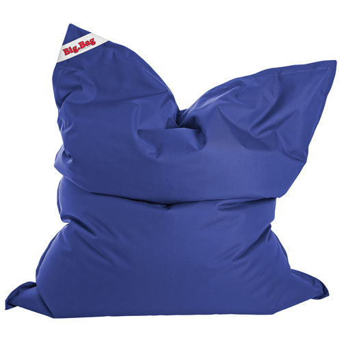 Fauteuil poire contemporain BigBag Brava XL de Sitting Point - Bleu royal