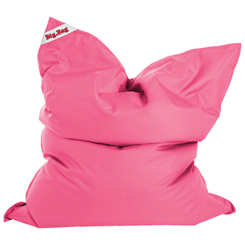 Sitting Point BigBag Brava XL Contemporary Bean Bag Chair - Pink