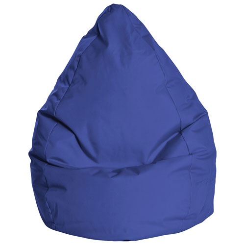 Sitting Point Brava XL Contemporary Bean Bag Chair - Royal Blue