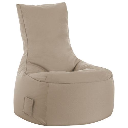 Sitting Point Swing Brava Contemporary Bean Bair Chair - Khaki