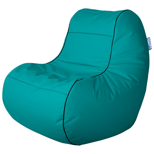 Fauteuil poire contemporain Chillybean Scuba de Sitting Point - Turquoise
