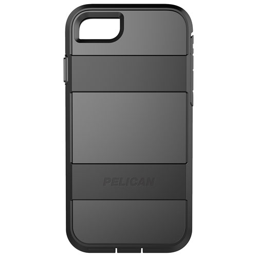 Pelican Voyager iPhone 7/8 Fitted Hard Shell Case - Black