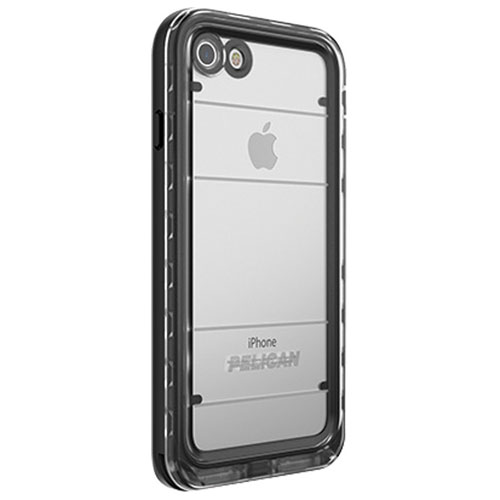 Pelican Marine iPhone 7/8 Fitted Hard Shell Case - Black/Clear