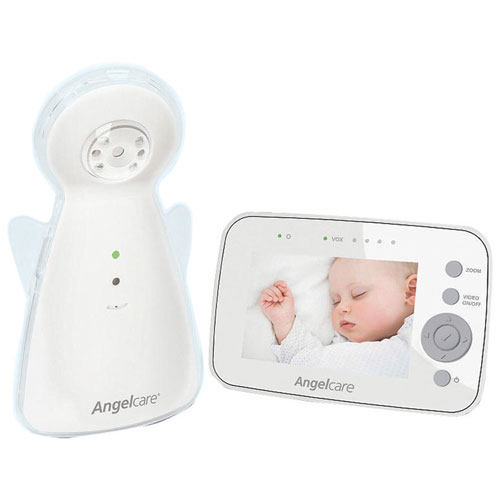 """Angelcare 3.5"""" Video & Audio Baby Monitor with Zoom/Pan/Tilt (A1320-CA0-A1005)"""