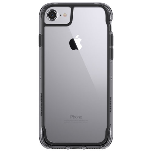 Griffin Survivor iPhone 6/6S/7/8 Fitted Hard Shell Case - Black/Smoke/Clear