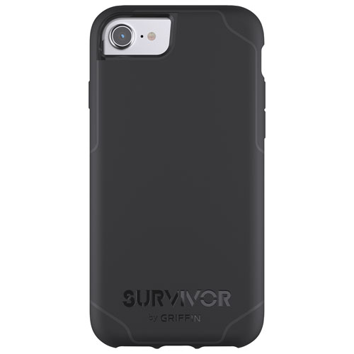 Griffin Journey iPhone 8/7/6/6S Fitted Hard Shell Case - Black/Grey