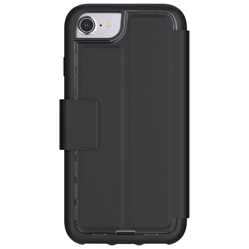Griffin Adventure iPhone 8/7/6/6S Fitted Hard Shell Wallet Case - Black
