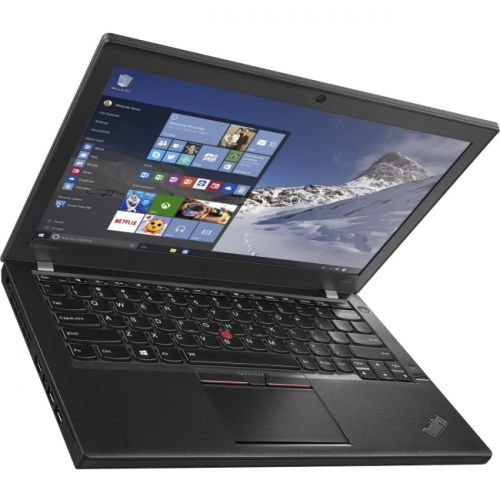 "Lenovo ThinkPad X260 20F6005JUS 12.5"" Ultrabook - Intel Core i7 (6th Gen) i7-6600U Dual-core (2 Core) 2.60 GHz - Black"