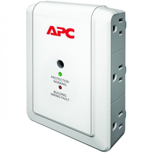 APC SurgeArrest Essential P6WT 6-Outlets Surge Suppressor