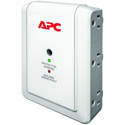 APC SurgeArrest Essential P6WT 6-Outlets Surge Suppressor