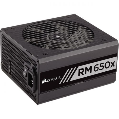Corsair RMx Series RM650x - 650 Watt 80 PLUS Gold Certified Fully Modular PSU