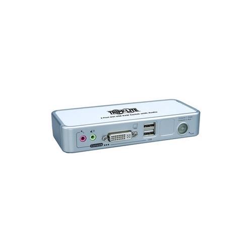 Tripp Lite B004-DUA2-K-R 2-Port DVI/USB KVM Switch