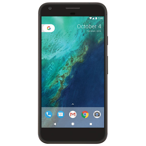 Fido Pixel XL, Phone by Google 32GB - Quite Black - 2 Year Agreement