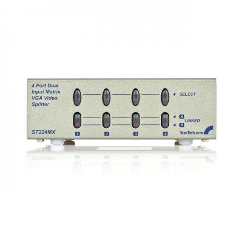 StarTech 2x4 High Resolution Matrix VGA Video Switch
