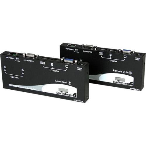 StarTech Long Range USB VGA KVM Console Extender over Cat5 UTP - 1000 ft