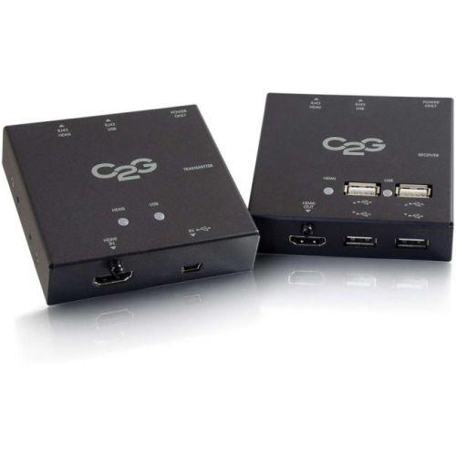 C2G Short Range HDMI + USB Over Cat5 Extender