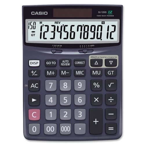 Casio Desk Calculator with Check & Correct Function
