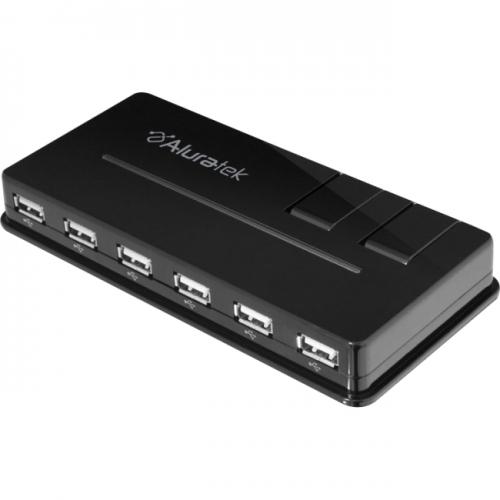 Aluratek 10-port USB Hub
