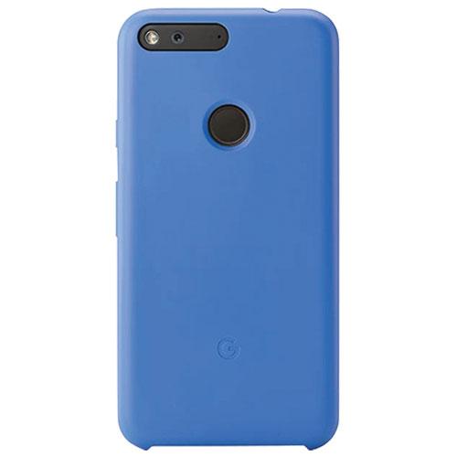 Étui rigide ajusté pour Pixel de Google - Bleu