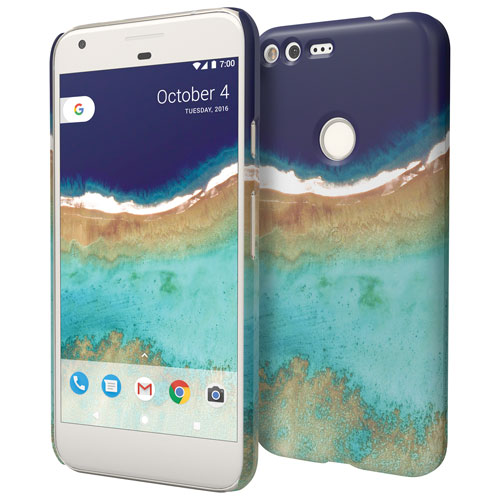 Google Earth Live Pixel Fitted Hard Shell Case - Moindou