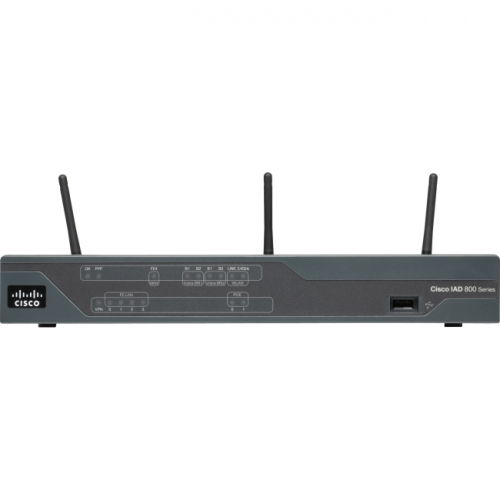 Cisco 881W IEEE 802.11n Wireless Integrated Services Router