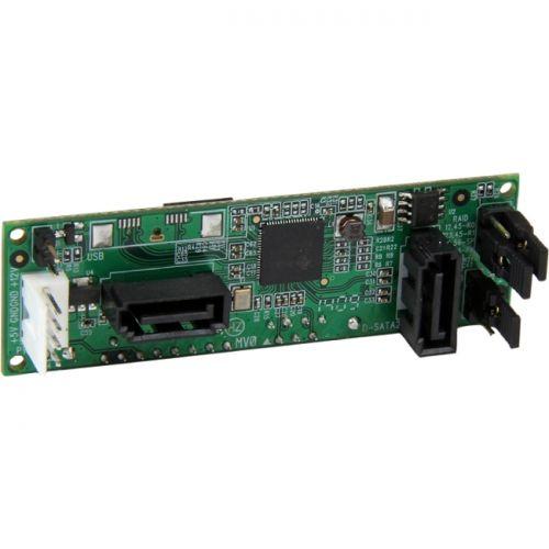 StarTech SATA Dual Hard Drive RAID Adapter - Internal SATA Connector to Dual SATA HDD RAID Controller Card