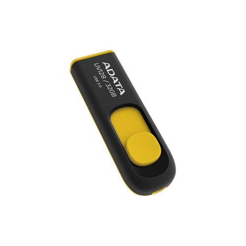 Adata Yellow USB 32GB 32G UV128 USB3.0 Flash Drive New Lifetime Warranty