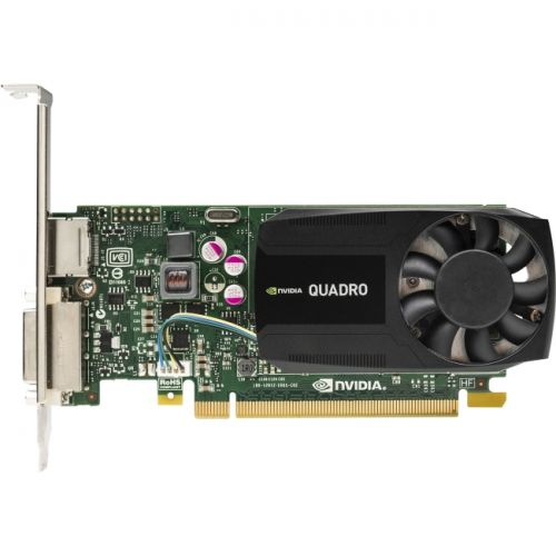 HP Quadro K620 Graphic Card - 2 GB DDR3 SDRAM - PCI Express 2.0 x16 - Low-profile - Single Slot Space Required