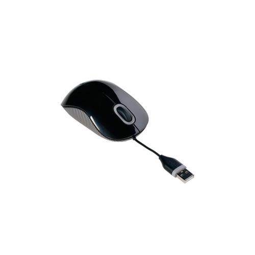 Targus AMU76CA Cord-Storing Optical Mouse