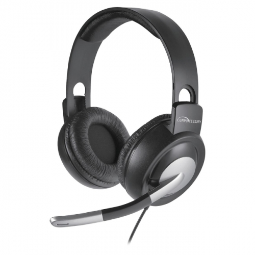 Compucessory On-Ear Headphone (15158) - Silver