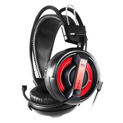 E-Blue Over-Ear Noise Cancelling Headphone (EHS013RE) - Red