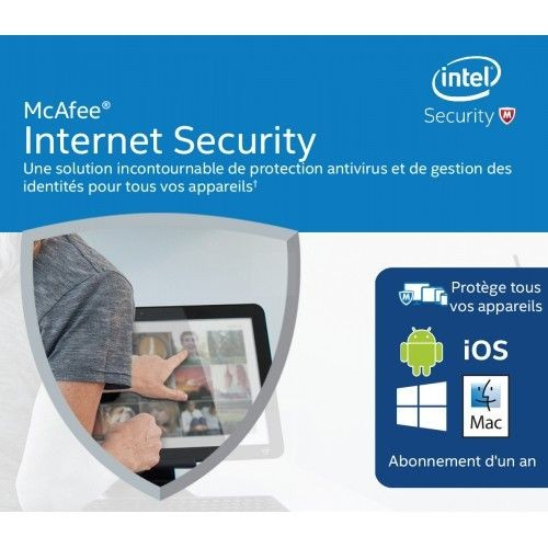 Intel McAfee Internet Security - Subscription License - 1 License