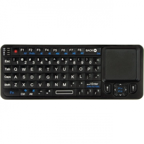 Visiontek Wireless Mini Keyboard with Touchpad and Built in IR Remote