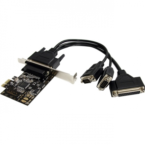 StarTech 2S1P PCI Express Serial Parallel Combo Card