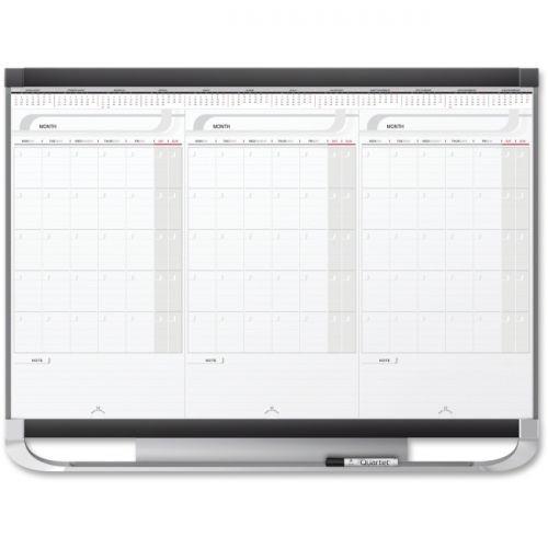 Quartet Prestige Modular 3-month Erase Calendar