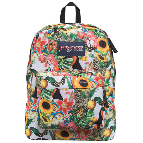 JanSport SuperBreak Backpack - Multi Jungle Jam : Backpacks - Best ...