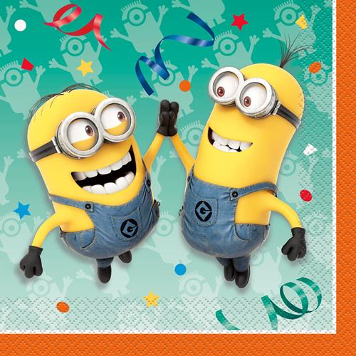 The Minions Luncheon Napkins [16 Per Pack]