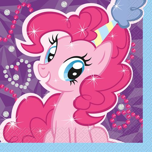 My Little Pony Luncheon Napkins [16 Per Pack]